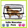 Jaula Trasnportadora L50 Perros Gatos Varikenel Para Viaje