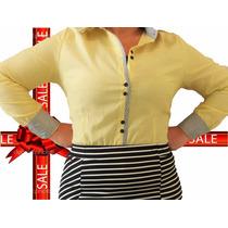 Camisa Social Feminina Plus Size