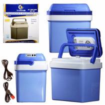 Geladeira Refrigerador E Aquecedor 25l 12/110/220v Bivolt
