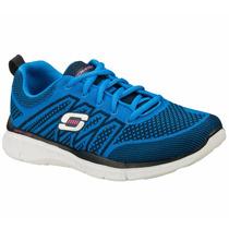 Zapatos Skechers Para Damas Equalizer 12029-blu