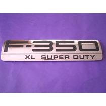 Emblema F-350 Xl Super Duty Ford Camioneta