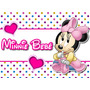Kit Imprimible Minnie Bebe Candy Bar Y Cotillon + Regalos!