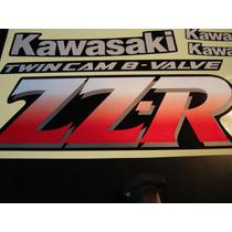Calcos Kawasaki Zzr 250 Solo 2 Twin Cam 8 Valve