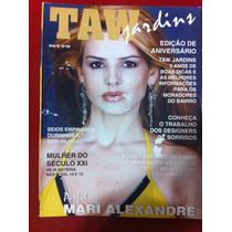 Revista Taw Mari Alexandre Musa Da Tv Gata Fantastica