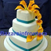 Set Moldes X 3 Forma Corazon Para Torta Reposteria