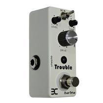 Pedal Over Drive P/guitarra-trouble-eno-tcube-frete Grátis!