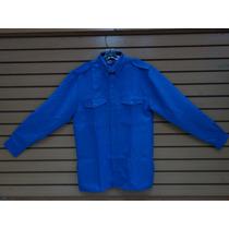 Camisa Para Vigilantes/vigilancia/seguridad/manga Larga