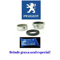 Kit Rolamento Bucha Eixo Traseiro Peugeot 206 207 - 47mm