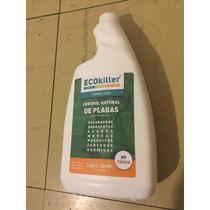 Ecokiller Repelente Orgánico Formulado Casa Y Jardin 1 Litro