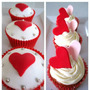 Cupcakes Personalizados Dia Amigo Amor Aniversario Halloween