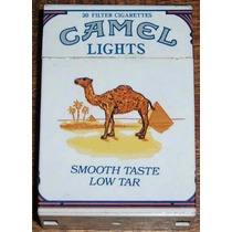 Encendedor Cigarrillos Camel Box Lights De Coleccion!!!
