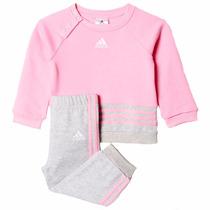 Conjunto Pants Con Sudadera Para Bebe Adidas Ak2602