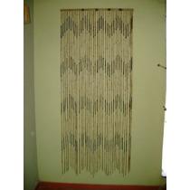Cortina Natural Fibra De Bambu Para Portas Medida 0,90x2,10