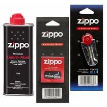Set De Repuestos Originales Zippo