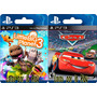 Little Big Planet 3 Y Disney/pixar Cars 1- Digital Ps3-locos
