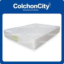 Colchon Resortes Modelo Mystic-city 1,40 X 1,90 Promo!!