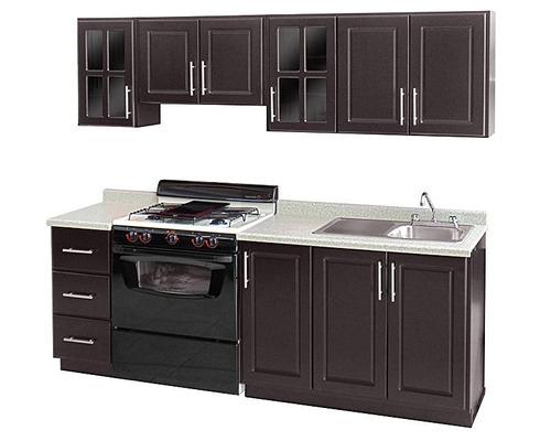 Cocina Integral Estilo Contempor Neo 5 Piezas 240 X 64 Y