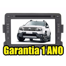 Central Multimidia Renault Duster Sandero Logan Dvd Tv Gps