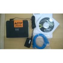 Modem Adsl + Roteador 4p Dir-100 D-link