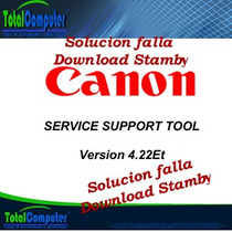 Service Support Tool Canon- Soluciona Error Download Stanby