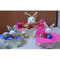 Souvenirs Para Pascuas Y Cumpleaños, Conejito Porcelana Fria