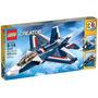 Lego Creator - Avião A Jato Azul - 3 Em 1 - 31039 - 608 Pcs