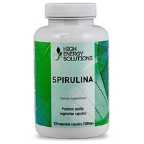 Spirulina - Valor Sized - 120 Cápsulas Vegetales - 100% Puro