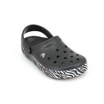 Crocs Crocband Animal Print Nuevo Modelo Deporfan