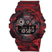 Relógio Casio G Shock Gd 120cm 4dr Wr200 H. Mundial 50alarme