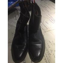 Zapatos De Hueso Cuero Suela
