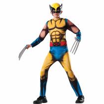 Disfraz Wolverine Original Talla 4/6 Años Entrega Inmediata