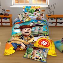 Edredon Individual Disney Hd Toy Story Doble Vista + Funda