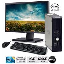 Computadoras Completas Core 2 Duo Monitor Teclado Mouse