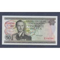 Luxemburgo 50 Francos 1972 Pick Nº 55 Sin Circular