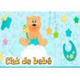 Chá De Bebê Menino - Papel Arroz A4 Para Bolo