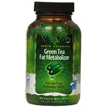 Irwin Naturals Green Tea Fat Metabolizador Dieta Suplemento