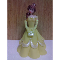 Adorno Princesa Bella En Porcelana Fria