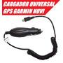 Cargador Auto + Cable Usb Gps Garmin Nuvi 200 1300 30 40 50