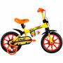 Bicicleta Power Rex Aro 12 Infantil Menino Rodinhas Caloi