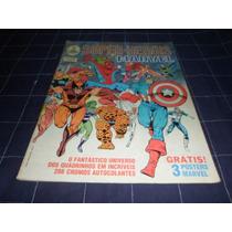 Álbum De Figurinhas - Super-heróis Marvel