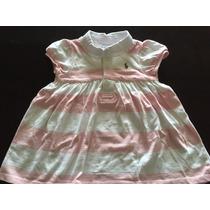 Vestido Infantil Ralph Lauren Com Calcinha - 6, 12, 24 Meses