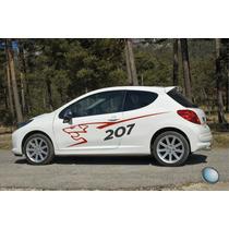 Calco Peugeot Rally - Ploteo