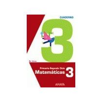 Matemáticas 3. Cuaderno 3. (en Línea); Luis Fer Envío Gratis