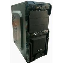 Gabinete 3 Baias Mymax Usb Audio Frontal - Frete Gratis