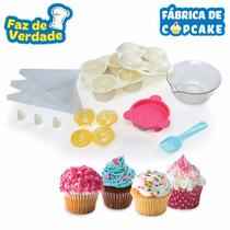 Brinquedos Menina Fábrica De Cupcake Faz De Verdade Estrela