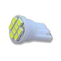 Lampada Pingo 8 Leds T10 Xenon Super Branca Frete Fixo W5w