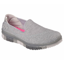 Zapatos Skechers Para Damas Go Flex Walk 14010 - Gry