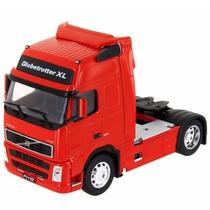 Miniatura Caminhão Volvo Fh12 Welly 1:32