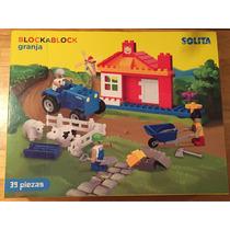 Lego Solita Blockablock Granja Original Nuevo Niños