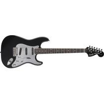 Fender Squier Stratocaster Black & Chrome